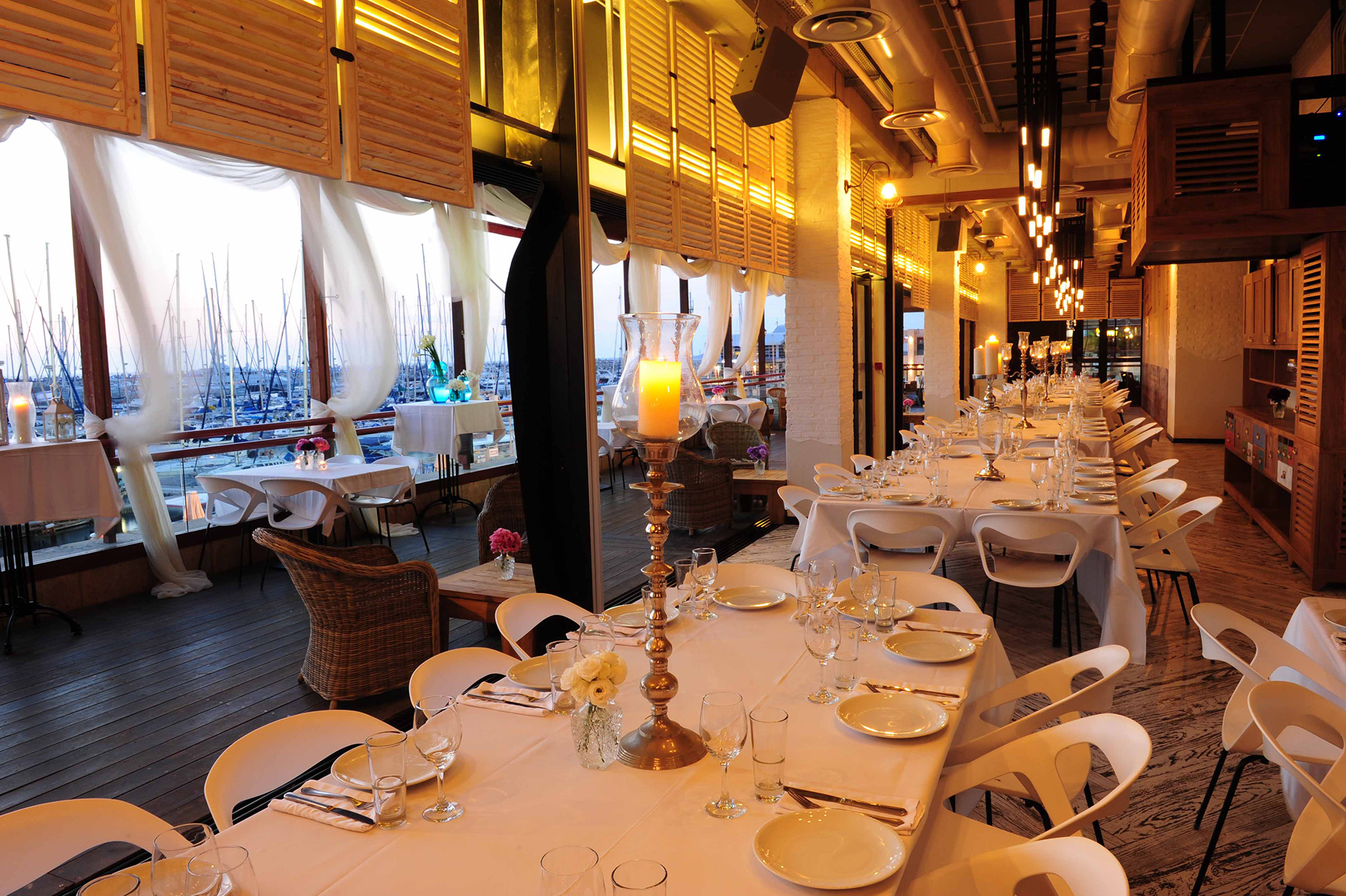מסעדות על חוף הים בהרצליה